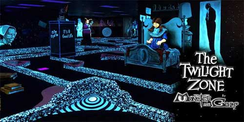 TWILIGHT ZONE BY MONSTER MINI GOLF