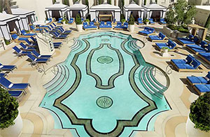 Caesar 39 s palace hotel for Garden of gods pool oasis