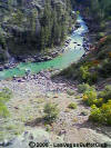Animas River in Durango, Colorado...