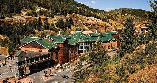 Exterior view of the Lodge Casino Hotel Black Hawk CO