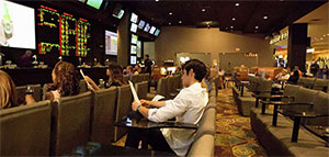 Luxor's Race and Sports Book