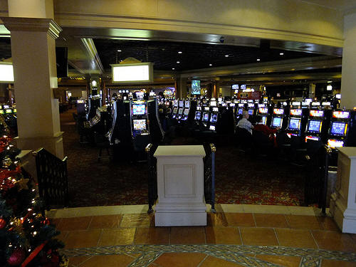 casino gambling payback percentages
