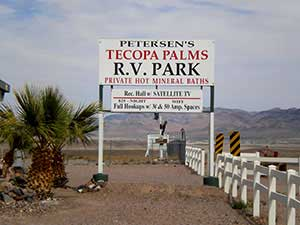 PETERSON'S TECOPA PALMS RV PARK